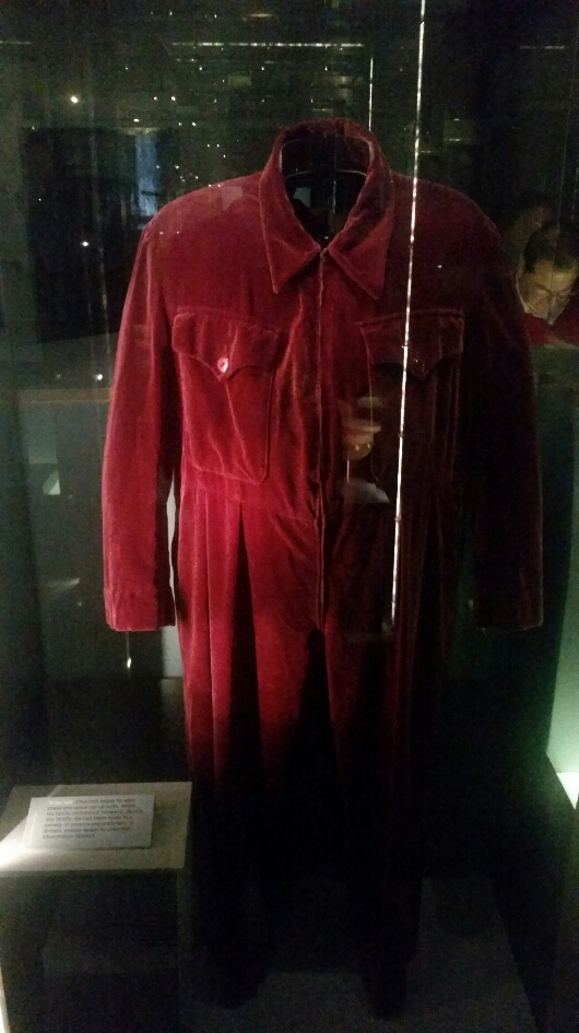 Winston Churchill's onesie! From the Churchill war rooms