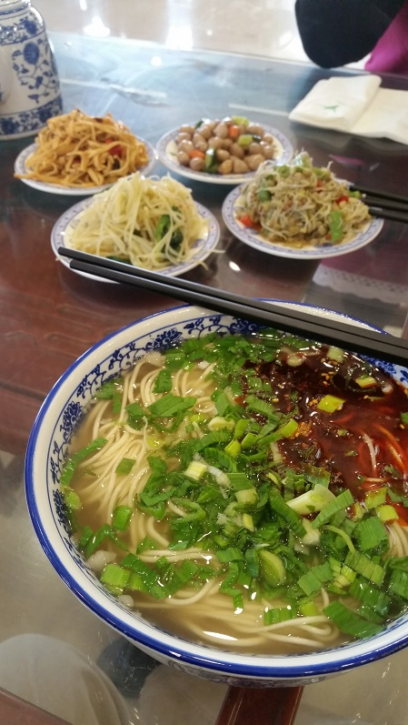 Lanzhou spicy beef noodles