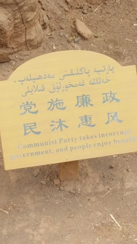 """Communist party takes in-corrupt government, and people enjoy benefits"""
