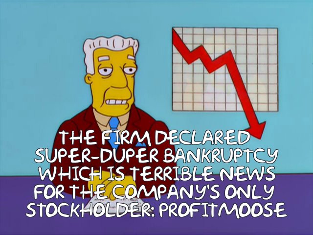 SuperDuperBankrupcy